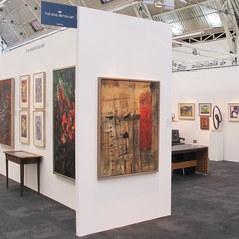 Stand 40 London Art Fair, January 2019